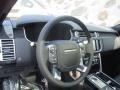 2016 Land Rover Range Rover Ebony/Ebony Interior Steering Wheel Photo