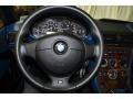 2001 BMW Z3 Topaz Interior Steering Wheel Photo