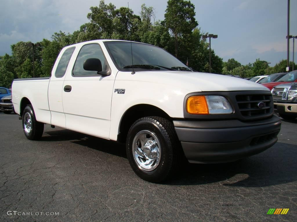 2004 oxford white ford f150 xl heritage supercab 10680075. Black Bedroom Furniture Sets. Home Design Ideas