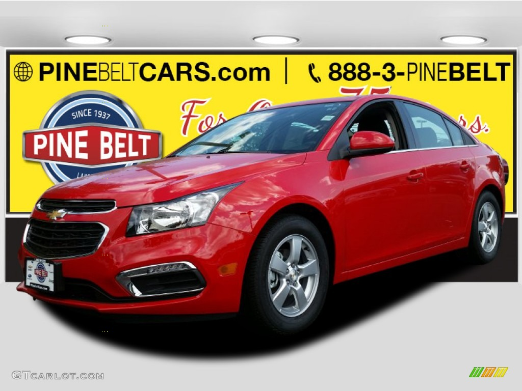 2016 Cruze Limited LT - Red Hot / Jet Black photo #1