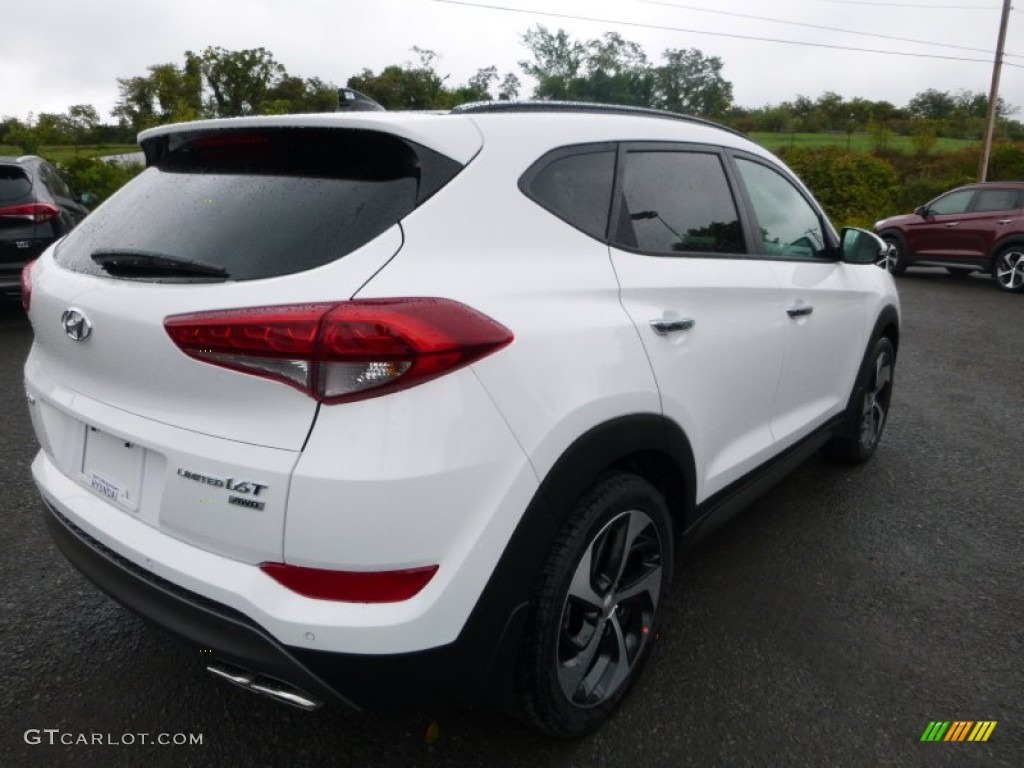 2016 winter white hyundai tucson limited awd 107044073. Black Bedroom Furniture Sets. Home Design Ideas