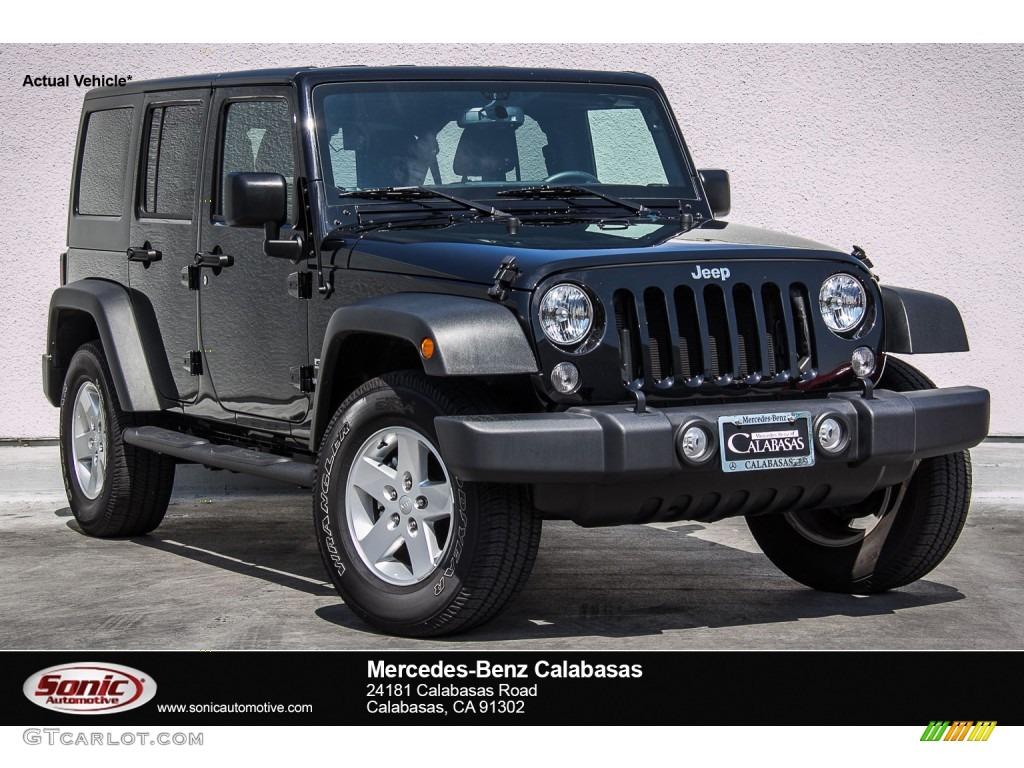 2015 black jeep wrangler unlimited sport 4x4 107043647 photo 9 car color. Black Bedroom Furniture Sets. Home Design Ideas