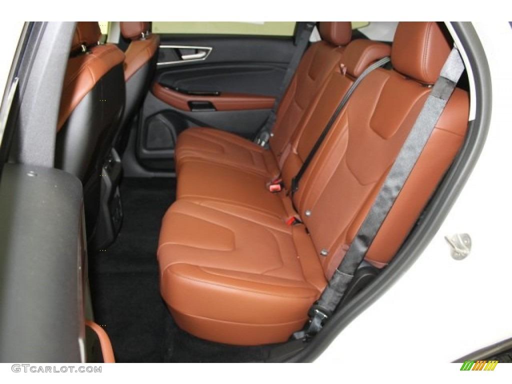 cognac interior 2015 ford edge titanium awd photo 107069581. Black Bedroom Furniture Sets. Home Design Ideas