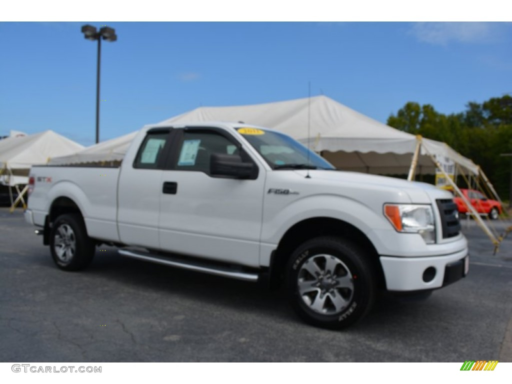 2011 oxford white ford f150 stx supercab 107077508 car color galleries. Black Bedroom Furniture Sets. Home Design Ideas