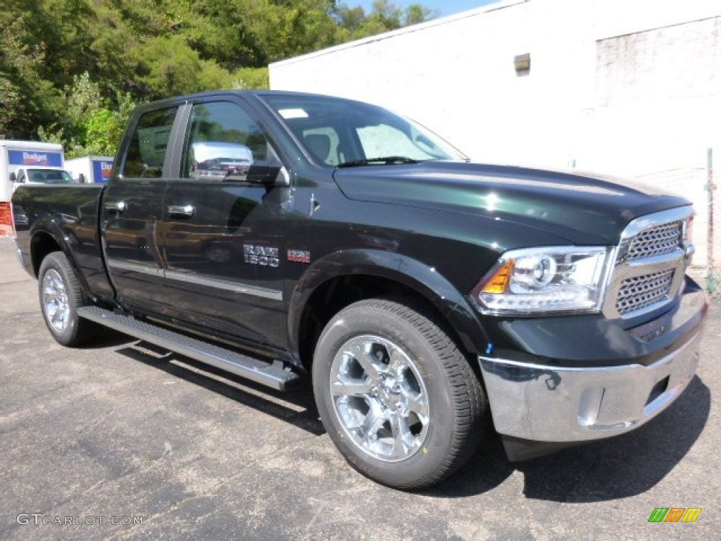 black forest green pearl 2016 ram 1500 laramie quad cab 4x4 exterior photo 107088432. Black Bedroom Furniture Sets. Home Design Ideas