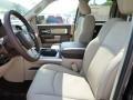 2016 1500 Laramie Quad Cab 4x4 Canyon Brown/Light Frost Beige Interior