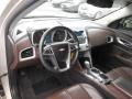 Jet Black/Brownstone Interior Photo for 2010 Chevrolet Equinox #107095524