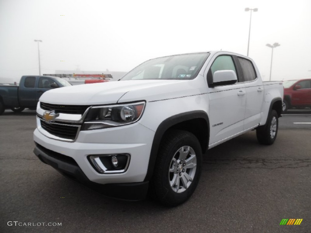 2016 summit white chevrolet colorado lt crew cab 4x4. Black Bedroom Furniture Sets. Home Design Ideas