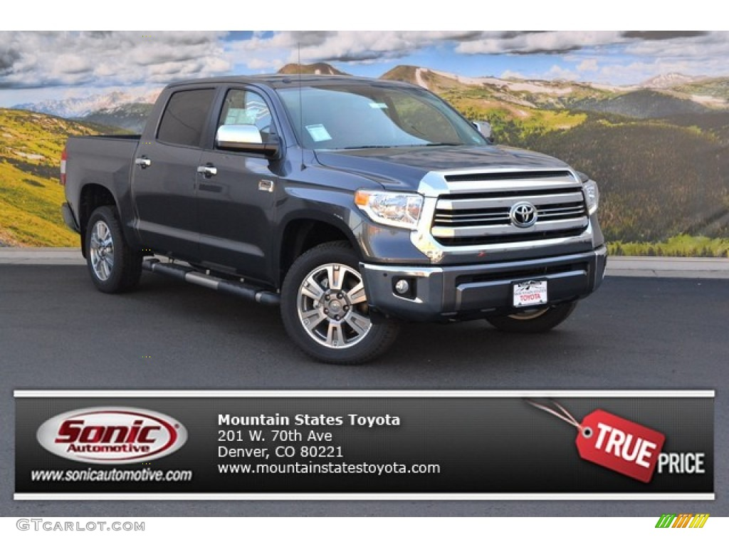2016 Tundra 1794 CrewMax 4x4 - Magnetic Gray Metallic / 1794 Black/Brown photo #1