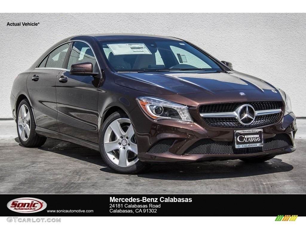 2015 cocoa brown metallic mercedes benz cla 250 107106514