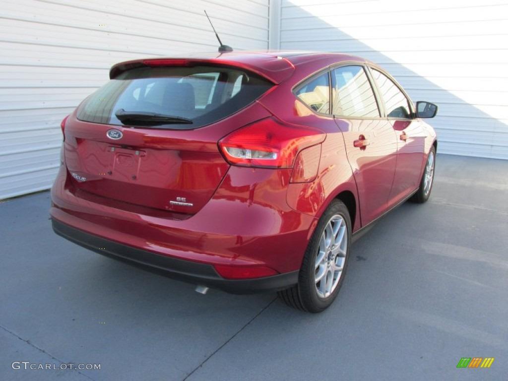 2015 ruby red metallic ford focus se hatchback 107128491 photo 4 car color. Black Bedroom Furniture Sets. Home Design Ideas