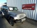 2016 Billet Silver Metallic Jeep Wrangler Unlimited Sahara 4x4  photo #1