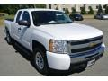 Summit White - Silverado 1500 LS Extended Cab Photo No. 1