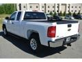 Summit White - Silverado 1500 LS Extended Cab Photo No. 4