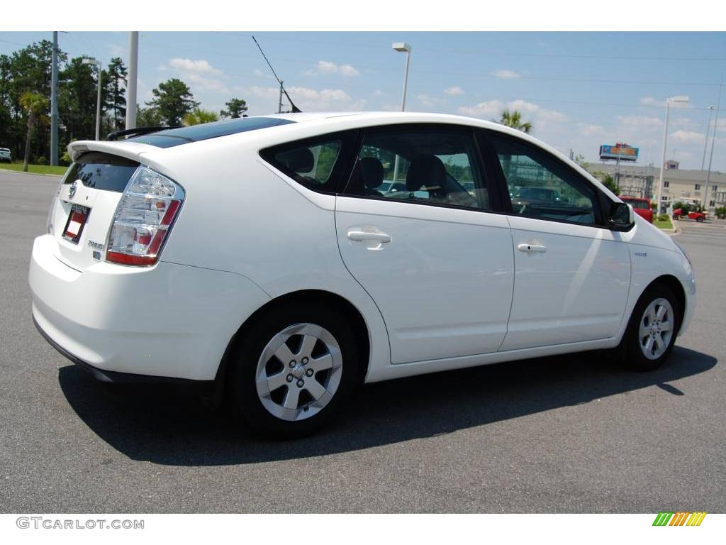 2006 super white toyota prius hybrid 10683428 photo 5 car color galleries. Black Bedroom Furniture Sets. Home Design Ideas
