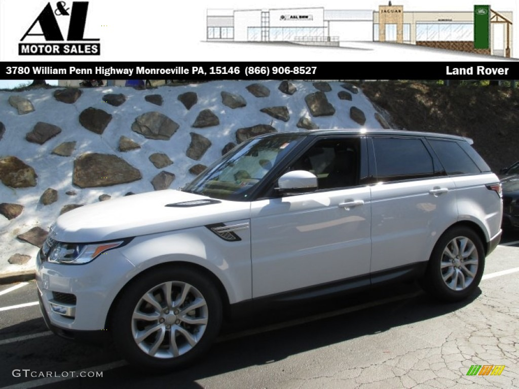2016 yulong white metallic land rover range rover sport hse 107154593 car. Black Bedroom Furniture Sets. Home Design Ideas