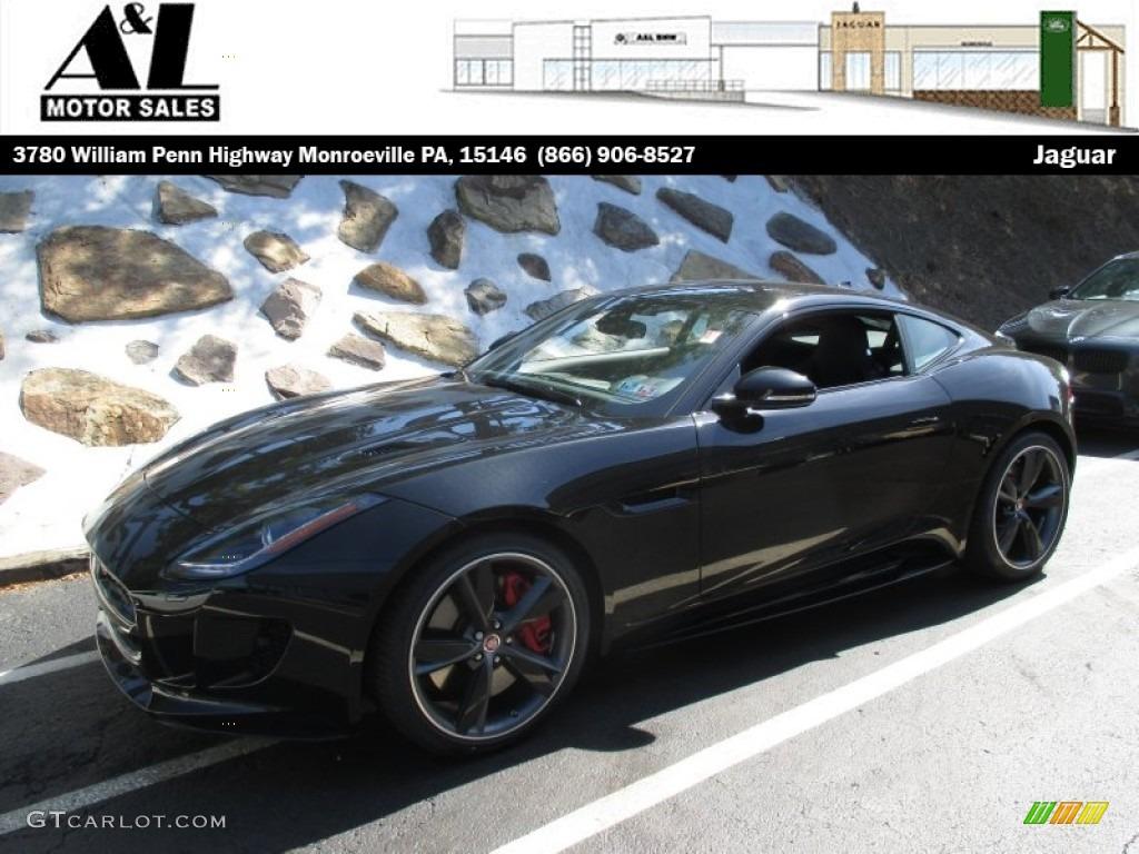 jaguar f type r coupe black - photo #24