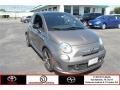 Grigio (Gray) 2013 Fiat 500 Abarth