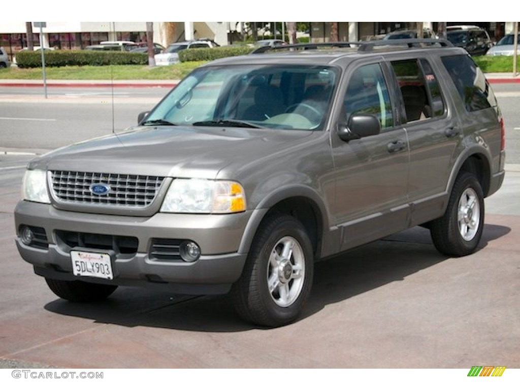 Mineral Grey Metallic 2003 Ford Explorer XLT Exterior Photo #107172308