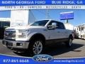 White Platinum Tricoat 2015 Ford F150 King Ranch SuperCrew 4x4
