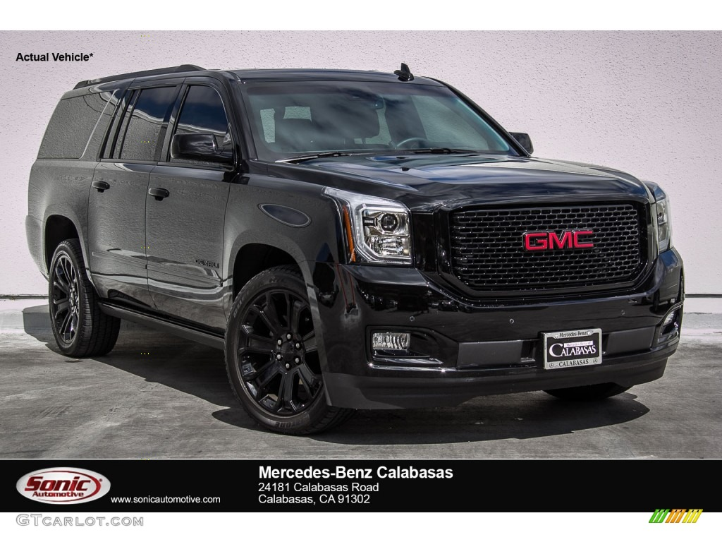 2015 onyx black gmc yukon xl denali 107201827 car color galleries. Black Bedroom Furniture Sets. Home Design Ideas