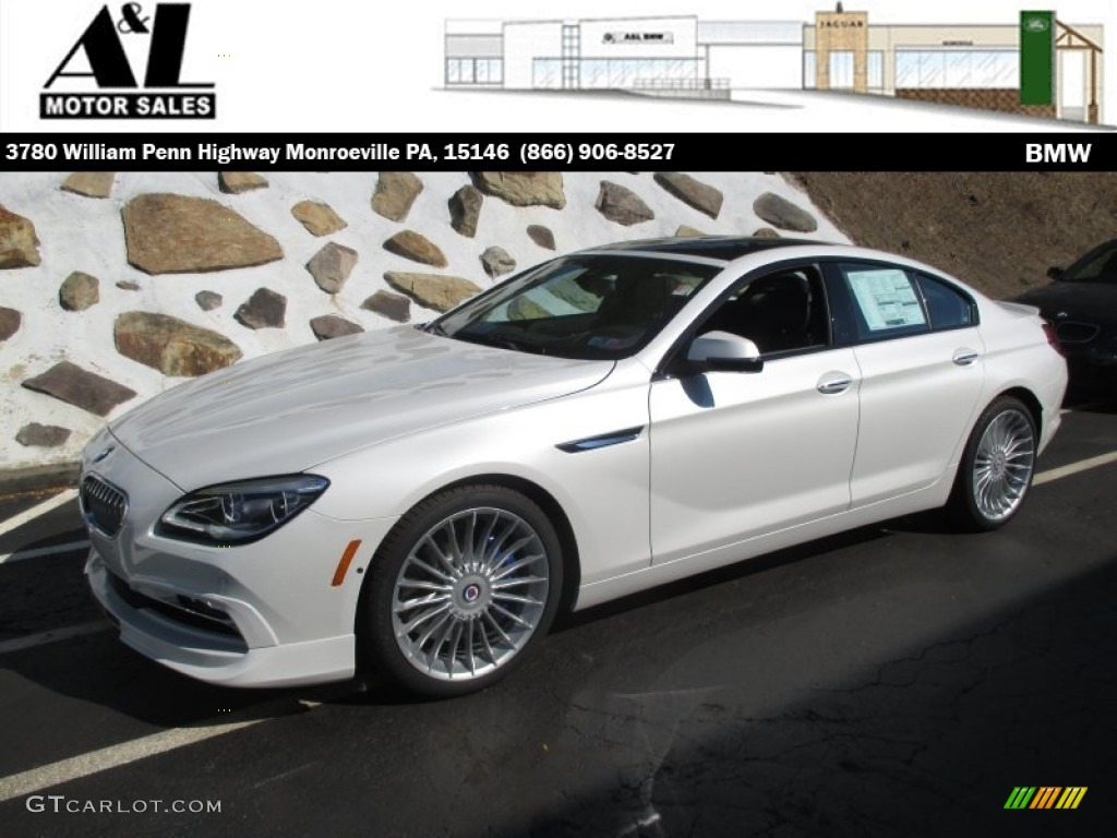 Mineral White Metallic BMW Series ALPINA B XDrive Gran Coupe - Bmw alpina b6 for sale