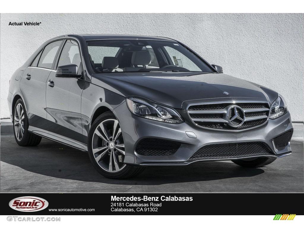 2016 Selenite Grey Metallic Mercedes-Benz E 350 Sedan ...