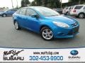 Blue Candy 2013 Ford Focus SE Sedan