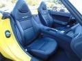 2009 Pontiac Solstice Ebony Interior Front Seat Photo