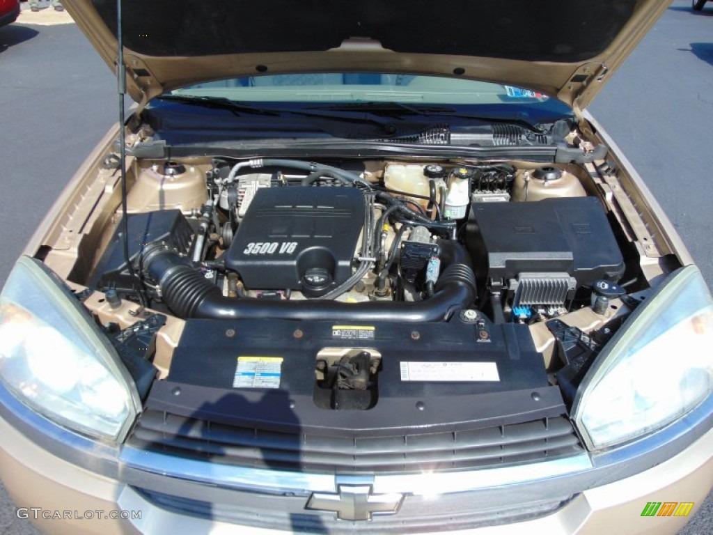 2005 Chevrolet Malibu Maxx Ls Wagon Engine Photos