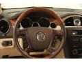 Cashmere/Cocoa Steering Wheel Photo for 2011 Buick Enclave #107250143