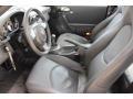 2007 Porsche 911 Stone Grey Interior Front Seat Photo