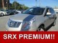 Silver Coast Metallic 2015 Cadillac SRX Premium
