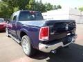 True Blue Pearl - 1500 Laramie Quad Cab 4x4 Photo No. 6