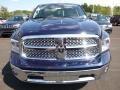 2016 1500 Laramie Quad Cab 4x4 True Blue Pearl