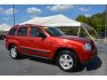 Inferno Red Crystal Pearl 2006 Jeep Grand Cherokee Laredo 4x4