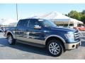 Blue Jeans Metallic 2013 Ford F150 King Ranch SuperCrew 4x4