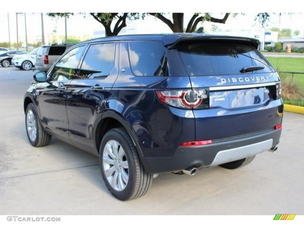 2016 Loire Blue Metallic Land Rover Discovery Sport Hse