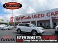 Blizzard White Pearl 2013 Toyota Highlander SE