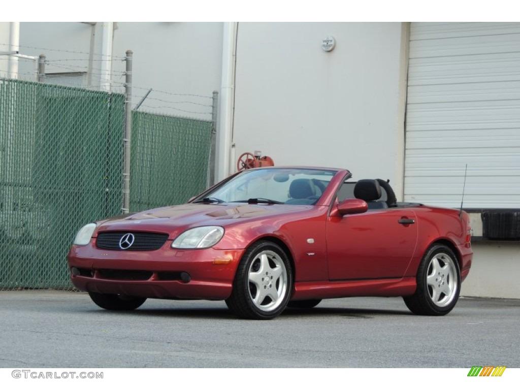Firemist red metallic 1999 mercedes benz slk 230 for Mercedes benz slk 230 kompressor 1999