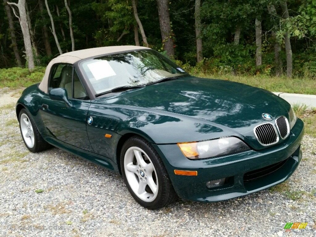 1997 Dark Green Bmw Z3 2 8 Roadster 107269175 Photo 8