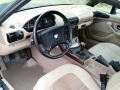 Beige Prime Interior Photo for 1997 BMW Z3 #107310317