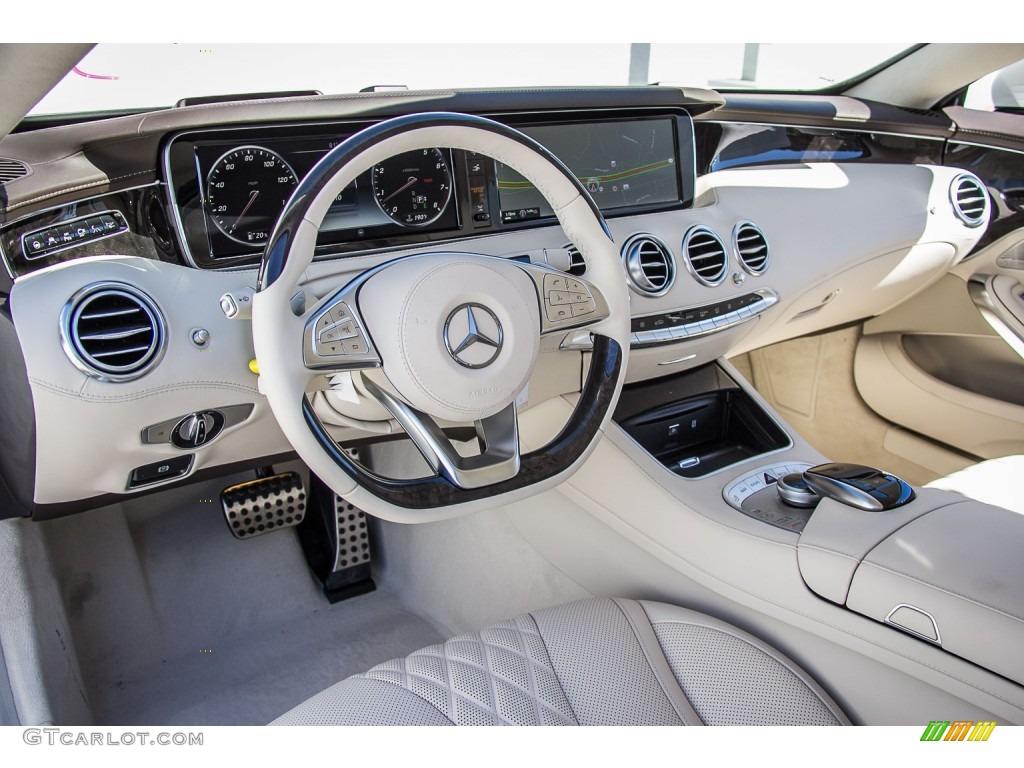 Designo Porcelain Espresso Brown Interior 2016 Mercedes Benz S 550 4matic Coupe Photo 107314133