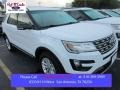 2016 Oxford White Ford Explorer XLT  photo #1