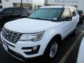 2016 Oxford White Ford Explorer XLT  photo #2