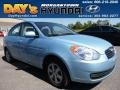 Ice Blue 2010 Hyundai Accent GLS 4 Door