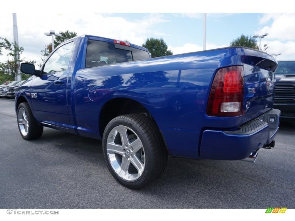 2016 blue streak pearl ram 1500 sport regular cab 107340493 photo 2 car color. Black Bedroom Furniture Sets. Home Design Ideas