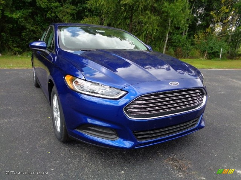 Deep Impact Blue Metallic Ford Fusion