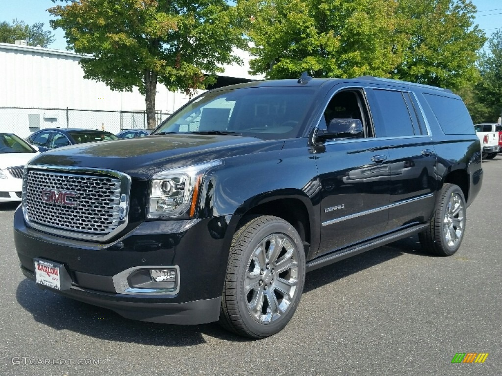 2016 onyx black gmc yukon xl denali 4wd 107340271. Black Bedroom Furniture Sets. Home Design Ideas