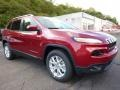 Deep Cherry Red Crystal Pearl 2016 Jeep Cherokee Gallery